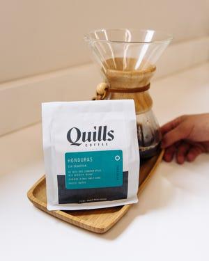Quills Coffee Honduras coffee.
