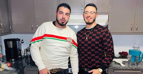 Eduardo Sanchez, left, was seriously injured in a car crash. He is pictured with his cousin Ivan Lomeli. Restaurante Casa Noble will hold a fundraiser for Sanchez on Oct. 23.