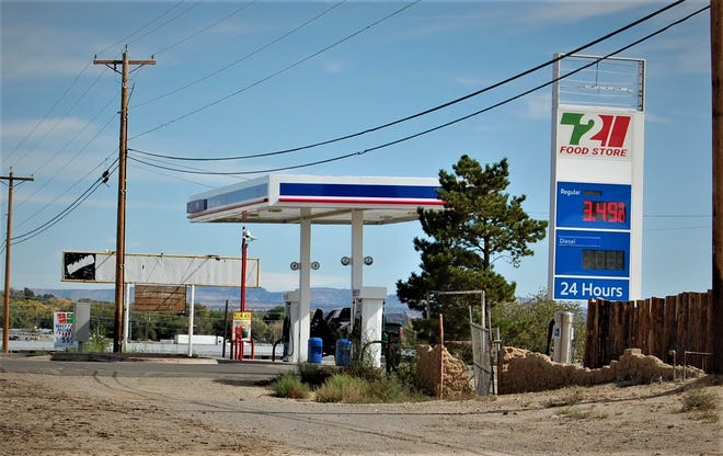 Gas prices continue to climb across New Mexico, with drivers paying  $1.12 a gallon more than they were a year ago.