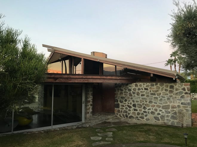 Schindler's Maryon Toole house in Palm Desert.