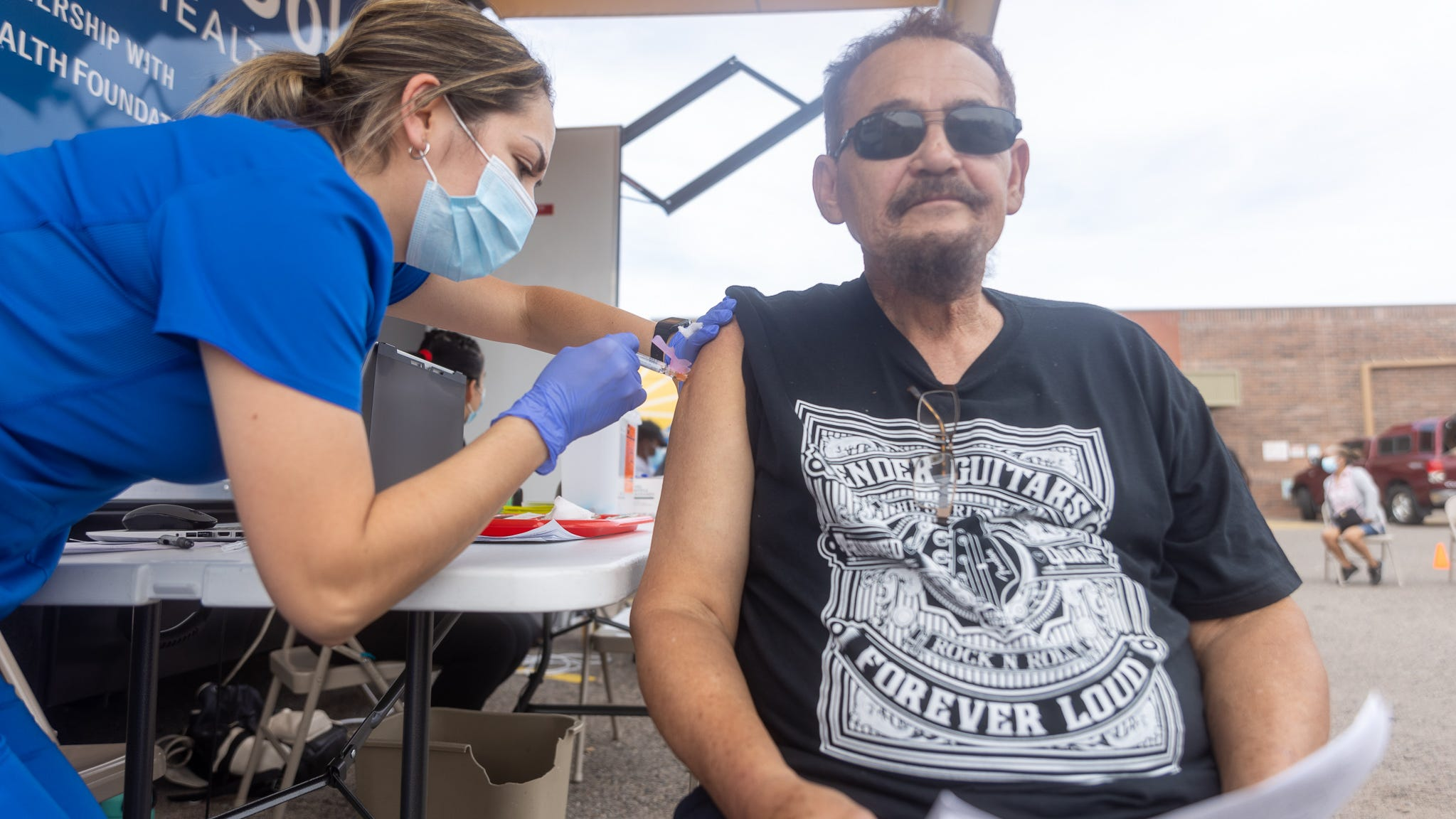 The vaccination event and health fair took place at the Chicanos Por La Causa office in Maryvale from Oct. 7 through Oct. 9.