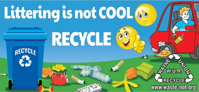 Wayne Union Recycling has posted billboards about littering in Wayne and Union counties.