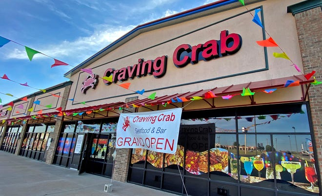 The newly-opened Craving Crab seafood restaurant, seen here in this Friday, Oct. 8, 2021 photo, is located at4509 Sherwood Way.