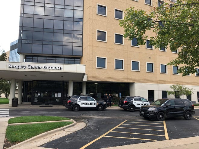 Police responded to the Mercy Surgery Center on Friday morning for a stabbing.