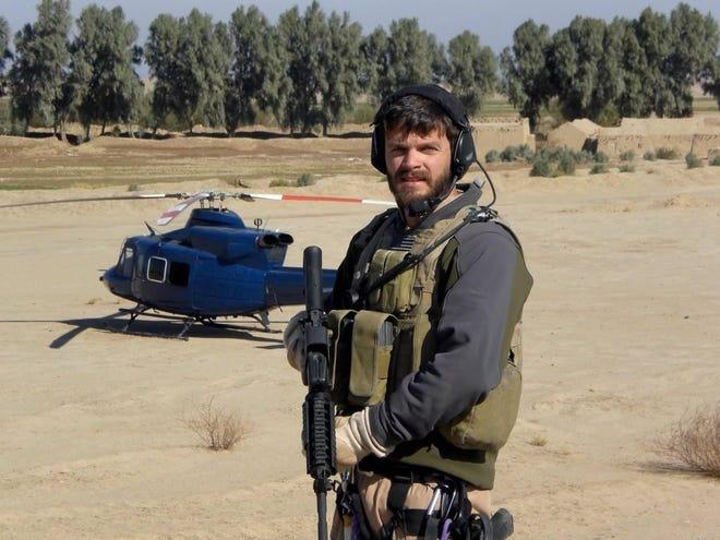 US Army veteran Tommy Breedlove serving 2007 tour of duty in Nasiriyah, Iraq.