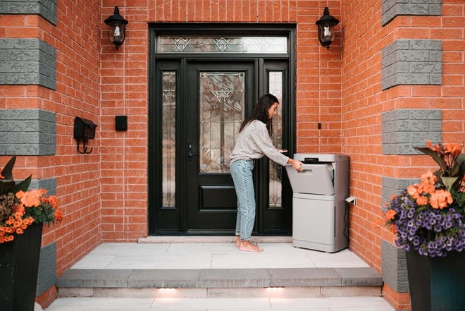 In the era of online deliveries, perhaps you own lockable parcel box is what you need? Danby Parcel Guard has a regular lock box ($229) that can fit parcels up to 15 x 10 in x 8 inches, but the smart model ($299) includes a motion sensor, camera, and two-way voice communication – so you're notified when something is dropped off and can chat with the courier, if desired.