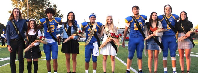 East Canton's Fall Homecoming Court.