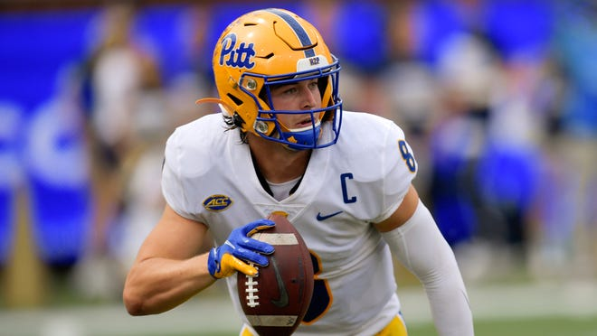 Pitt quarterback Kenny Pickett could make statements about the races for ACC and Heisman Trophy this week against Clemson.