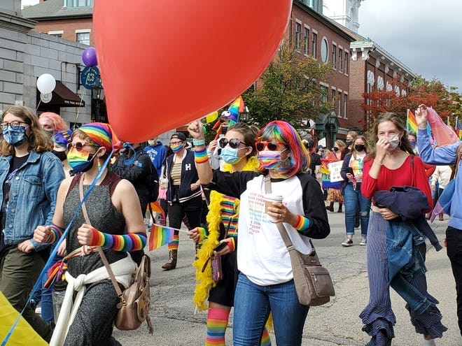 Pride march Saturday beginning in Market Square.