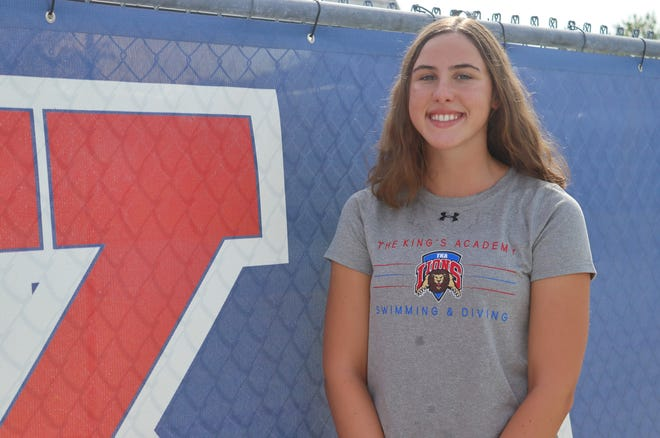 At the Florida Swimming Pool Association invitational, King's Academy swimmer Ava Fasano broke records in the individual 50-meter freestyle,200-meter medley, and 200-meter freestyle relays.