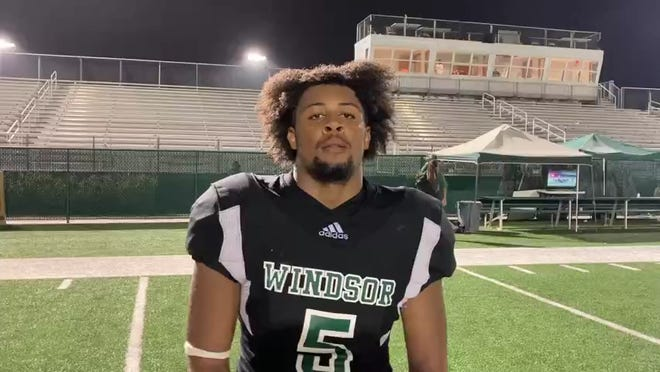 Windsor Forest's Mike Cabellero is the Savannah Morning News/savannahnow.com High School Football Player of the Week for Week 8.