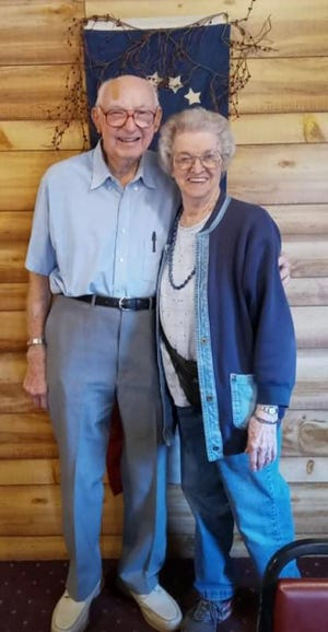 Bob Fenton and Charlene Berger Moore attended the Class of '46 reunion.