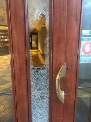 Ahmadiyya Muslim Community's Mosque in Rochester Hills was vandalized Friday night.