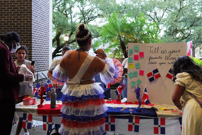 The Hispanic/Latinx Student Union was one of the many student organizations present at the celebration.
