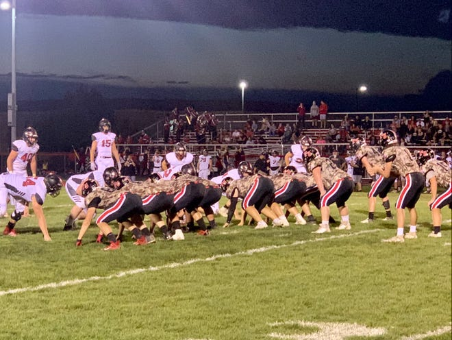 Liberty Union held off Fairfield Union and came away with a 13-6 Mid-State League-Buckeye Division win Friday Night at Falcon Stadium.