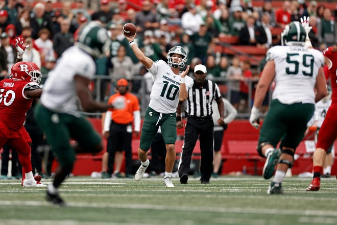 Payton Thorne's numbers through six games — including 14 touchdown passes and two interceptions and 16 yards per completion — makes his start to this season among the best ever for an MSU quarterback, and certainly the best ever for a debut season.