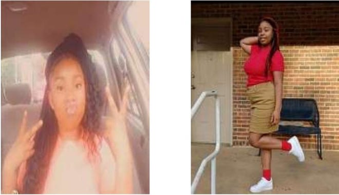 Luhniahyhua Safford was last seen about 9 p.m. Tuesday, October, 5, 2021 in the area of Victor Tulane Circle.