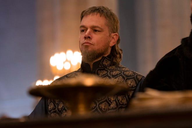 Matt Damon as Jean de Carrouges in 'The Last Duel.'