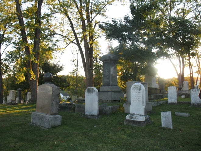 """""""Tales of Locust Grove"""" is an annual event sponsored by the Twinsburg Historical Society that takes visitors on a lantern-lit, family-friendly tour of Twinsburg's oldest cemetery. Hour-long tours begin at 6 p.m. on Friday, Oct. 15, and Saturday, Oct. 16."""