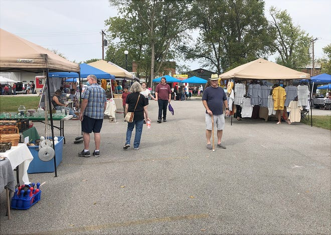 A number of vendors turned out this year for the annual Blackwater Festival on Saturday, Oct. 9 in Blackwater. In addition to the myriad of vendors, festival-goers were also treated to live music, great food, and a car show.