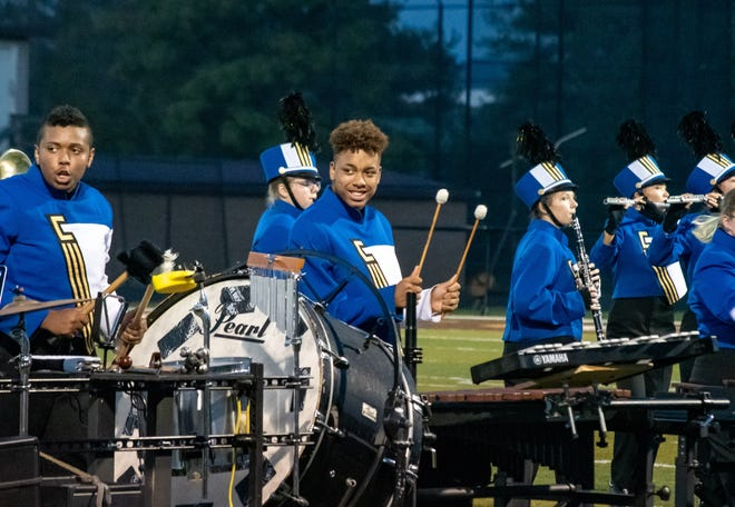 Cambridge Marching Band took the title of Reserve Grand Champion at the 34th annual Festival of Bands.