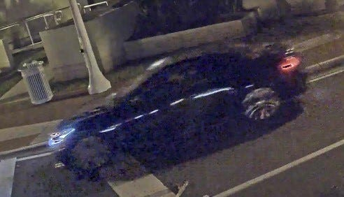 A black, 2012 Infiniti hardtop convertible with possibly damage to the front portion sought in connection with a fatal hit-and-run Saturday in Fort Myers  has been recovered in Naples, Fort Myers police said Monday.