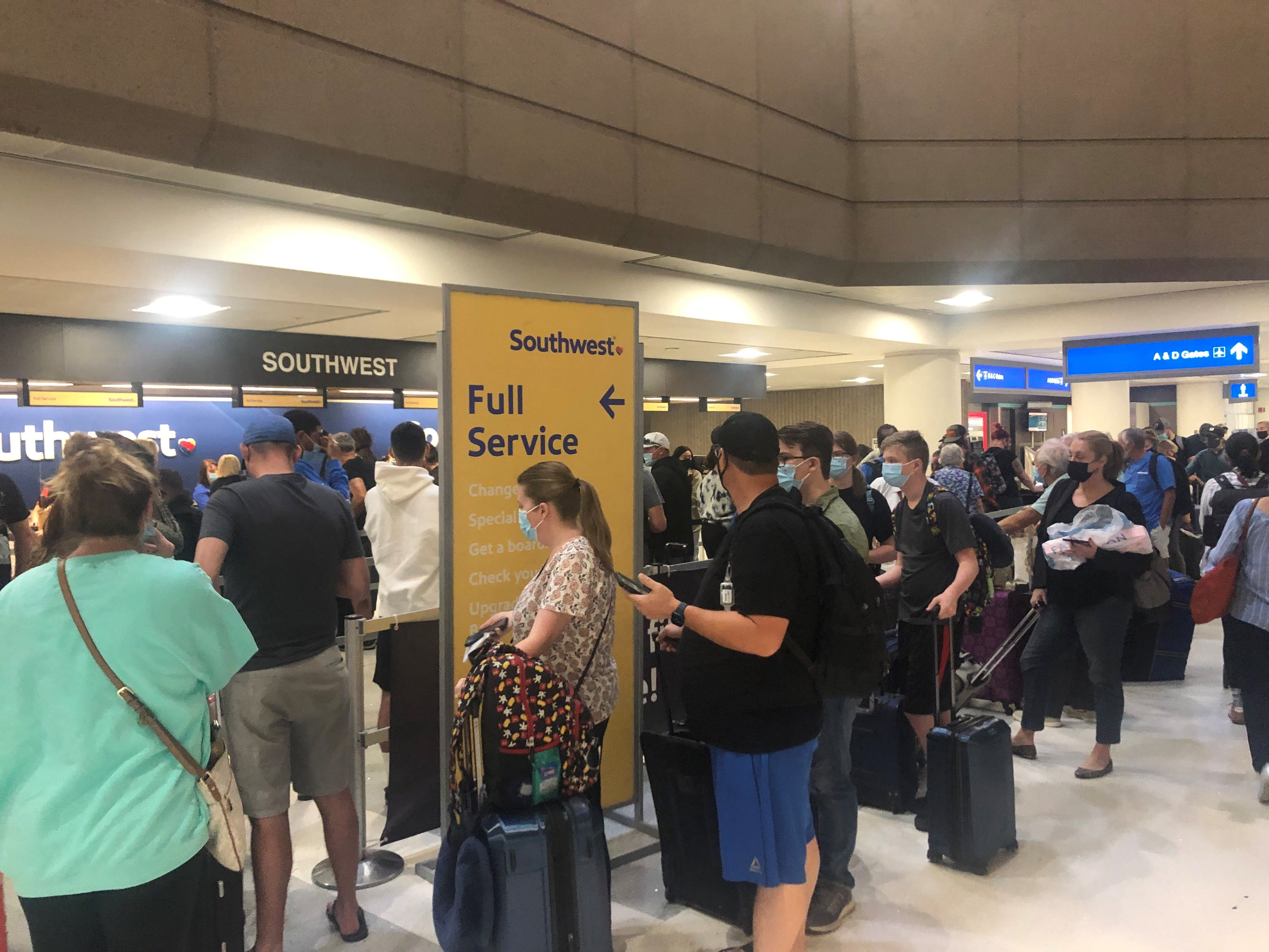Southwest president says nothing nefarious behind flight cancellations, airline eyes holiday travel cuts