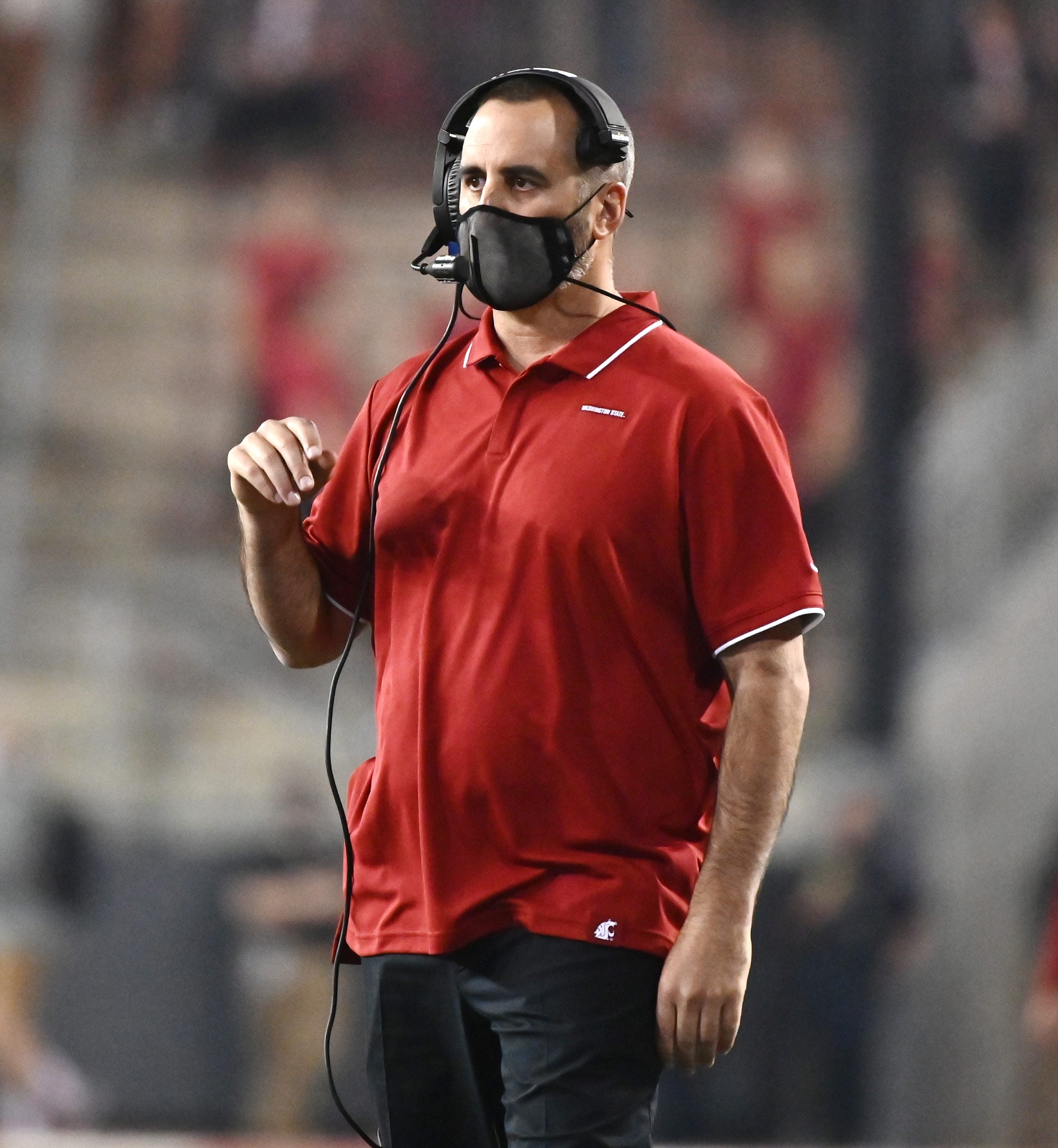 Washington State coach Rolovich confirms he is seeking religious exemption from COVID-19 vaccine mandate