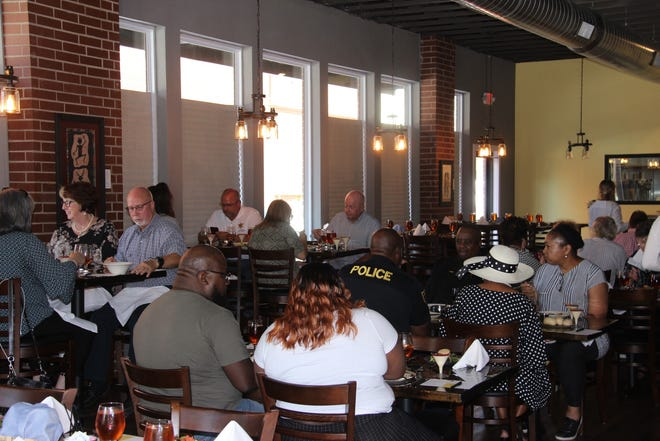 The Ardmore Main Street Authority held a luncheon at the Sunset Grill on Monday, Oct. 11 to update the community about the organization.