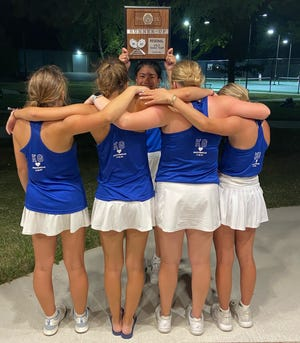 The Circle Lady Thunderbirds tennis team finished runner up as they honored their teammate Kilar Gillispie, who passed away this summer.