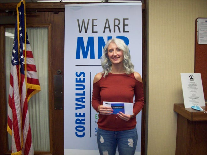 Abigail Patterson has been chosen as the October Senior of the Month at Cuba High School.