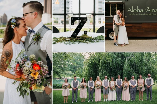 Nikki and Mike Zuber married on May 18, 2019