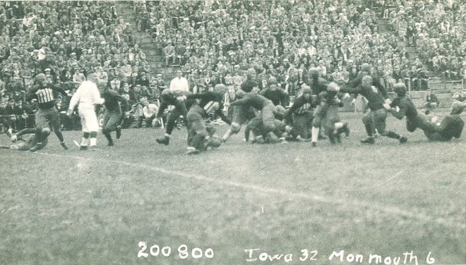 Monmouth College was somewhat competitive against the University of Iowa in 1927, losing 32-6. Two years later, the Scots would play the very first game in what is now Kinnick Stadium.