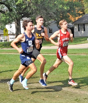 Coldwater's John Aerts brought home a medal from the Portage Invite on Saturday with his 33rd place finish