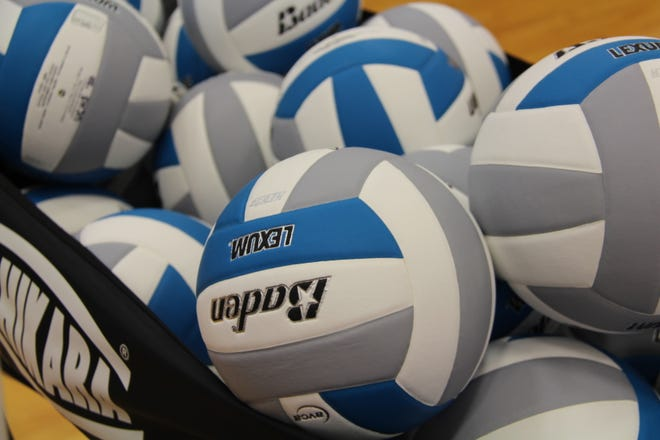 The Bronson Viking volleyball team finished at 2-1 at the Notre Dame Prep quad this past Saturday