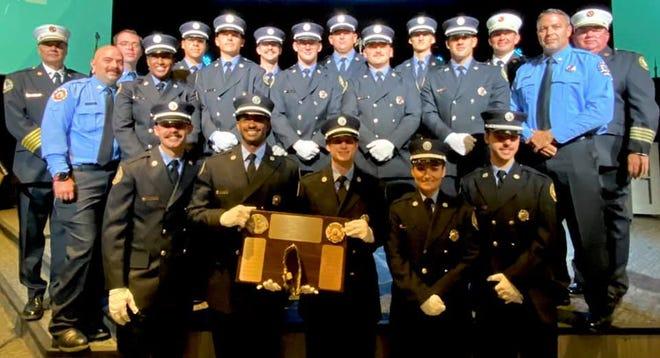 Ascension Parish Fire District 3 held the Graduation Program for Recruit Academy Class 3 Oct. 9 at Fellowship Church in Prairieville.