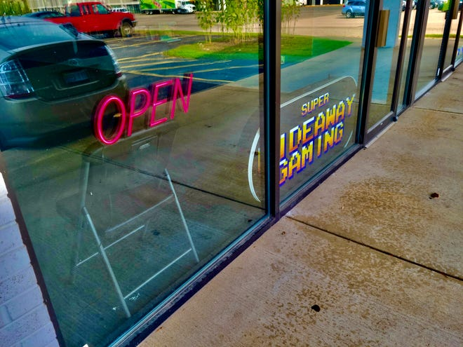 Super Hideaway Gaming opened Monday, Oct. 11, in Holland. The store is an expansion of Hideaway Gaming in South Haven.