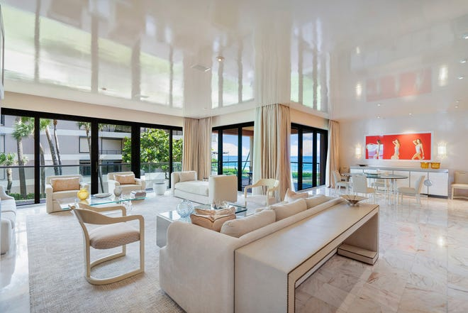Priced at about $12 million, an oceanfront corner apartment, N21. at 2 N. Breakers Row in Palm Beach is under contract, the multiple listing service shows. It and a $20-million penthouse in the same development are the most expensive condos with contracts pending in the MLS as the new tourist season gets underway.