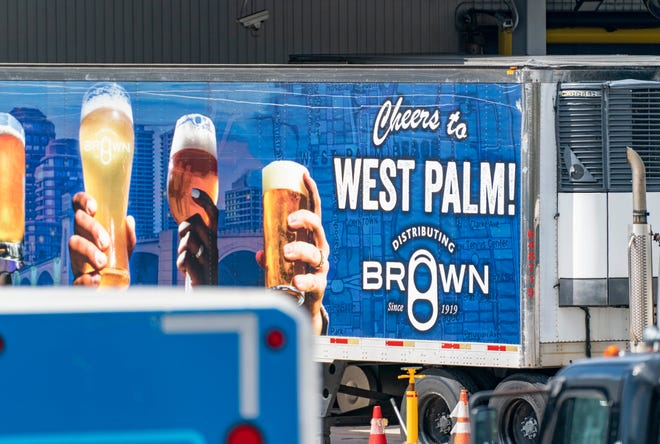 Brown Distributing Company at 1300 Allendale Road in West Palm Beach, Florida on October 11, 2021.
