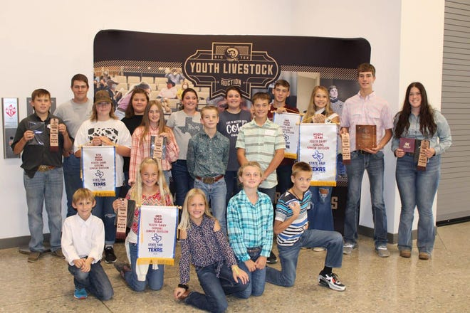 Erath County 4-H recently took part in the State Fair Of Texas Dairy Judging competition. The senior teams placed first and sixth and the junior teams placed second and third.
