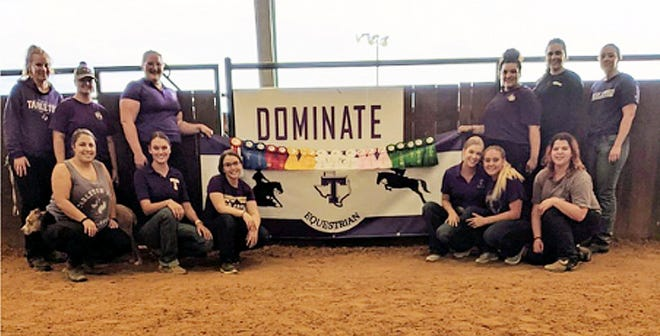 The Tarleton Equestrian Team took part on its first western IHSA show of the season. The Tarleton women started off strong Saturday with being the Reserve High Point Team and then took third overall on Sunday out of nine teams.