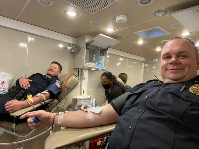 On Friday, Oct. 1, the Stephenville Police Department hosted its annual public safety blood drive. In total, 39 units of blood were donated. That translates to 177 lives saved.