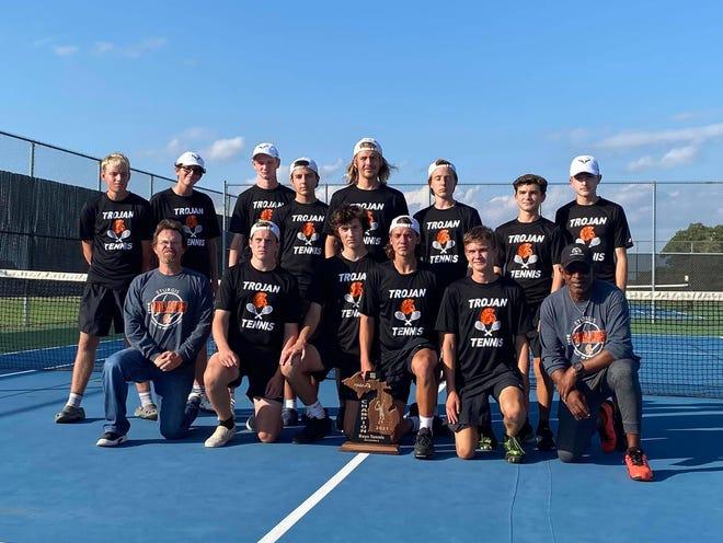 The Sturgis tennis team won a regional championship on Saturday in Paw Paw.
