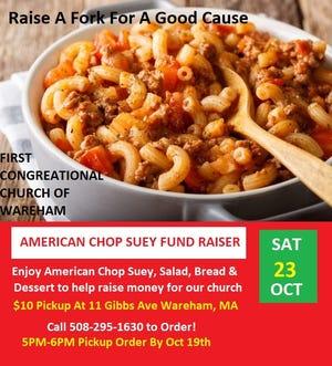 Chop Suey fundraiser.