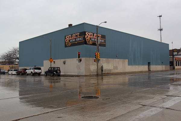 Milwaukee recording studio Kneeverland Productions is expanding to the former Select Sound Service building at 107 E. National Ave.