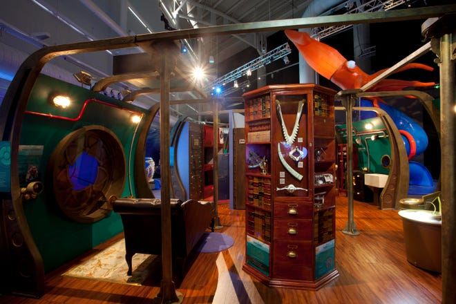 """""""Voyage to the Deep,"""" an exhibit inspired by Jules Verne's """"20,000 Leagues Under the Sea,"""" is coming to the Milwaukee Public Museum Oct. 15."""