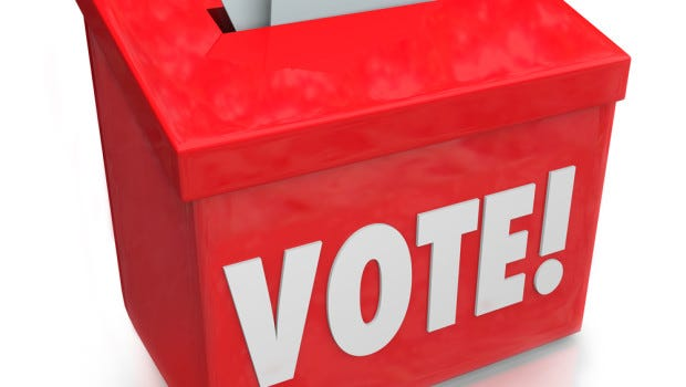 If you're not registered to vote, or if you need to update your address, name or political party, the deadline is Monday, Oct. 18.
