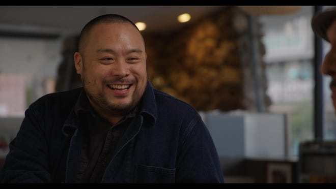 """Chef David Chang is the host and star of Hulu's new documentary series """"The Next Thing You Eat""""."""