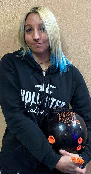 In just her second year of bowling, Hailey Bundy already reached a bowling milestone with her first 600 series on games of 223, 201 and 179 in St. George.