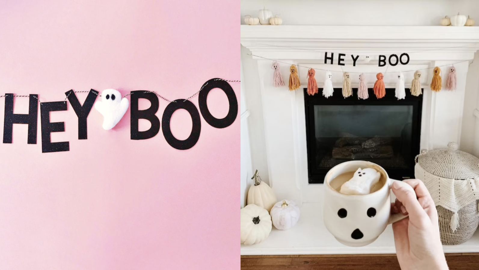 This garland is more sweet than it is scary.